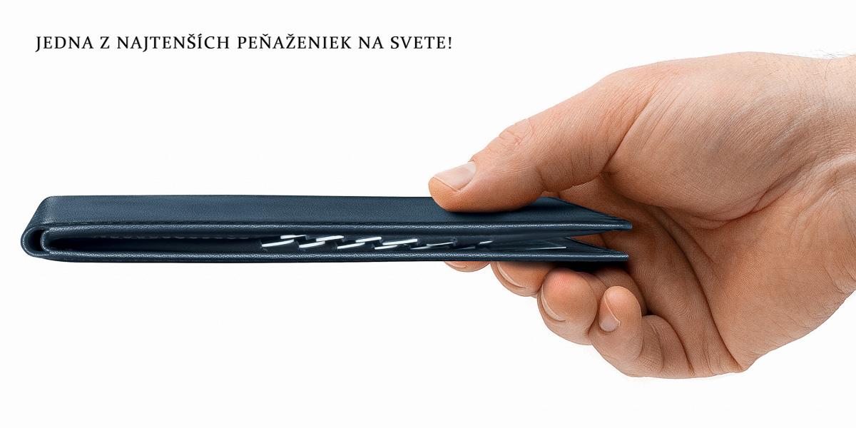 Najtensie penazenky - TAILOR MADE